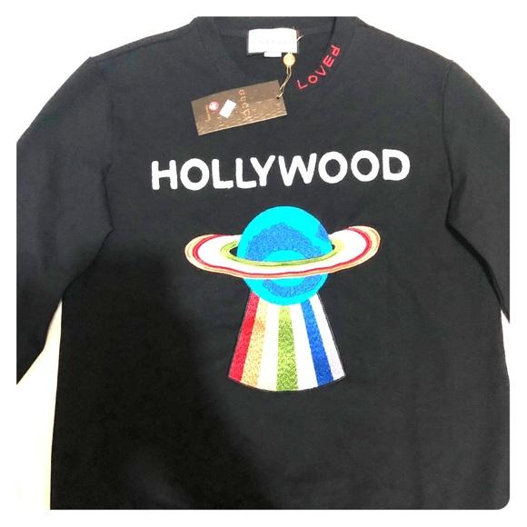 b3deb3d36c1 GUCCI Hollywood sweatshirt XL NEW WITH TAGS
